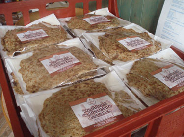 Freshly Baked Staffordshire Oatcakes Mail Order