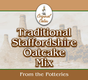 Staffordshire Oatcake Mix